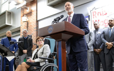 Sen. Tartaglione, Gov. Wolf Lead Rally for Long-Overdue Raise to Pennsylvania's Minimum Wage