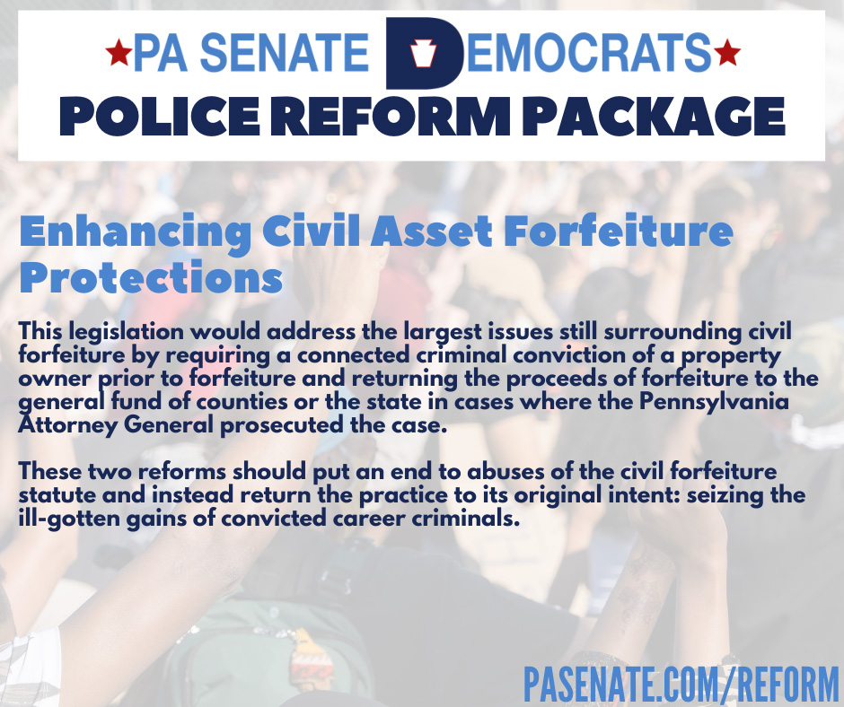 Enhancing Civil Asset Forfeiture Protections