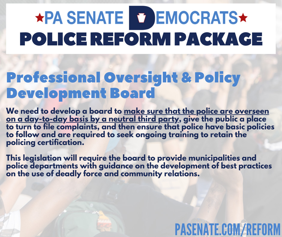 Professional Oversight and Policy Development Board