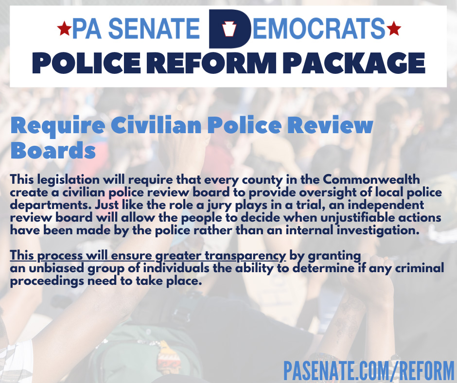 Requiring Civilian Police Review Boards