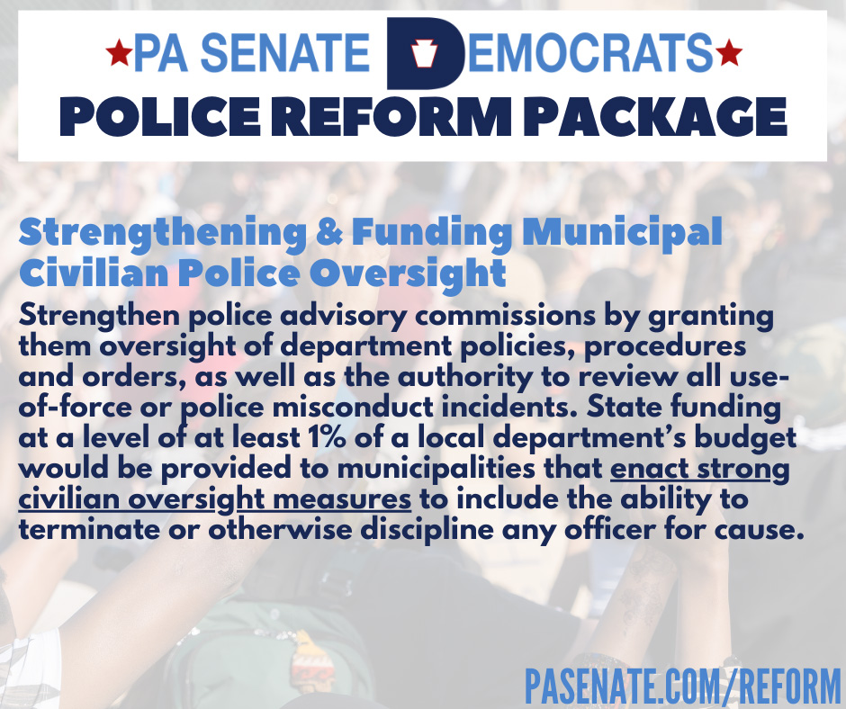 Strengthening and Funding Municipal Civilian Police Oversight